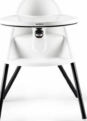BabyBjorn Compact Highchair Baby Bjorn white black [67021]